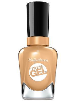 Гель лак для ногтей Miracle Gel how nude, тон 130 SALLY HANSEN. Цвет: коричневый
