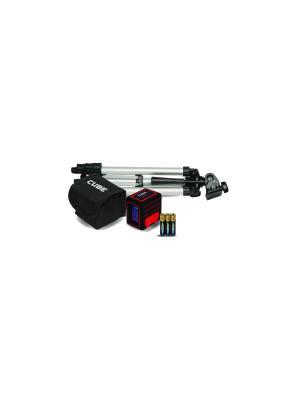 Построитель лазерных плоскостей ADA Cube MINI Professional Edition instruments. Цвет: черный, красный