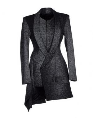Легкое пальто JEAN PIERRE BRAGANZA. Цвет: стальной серый