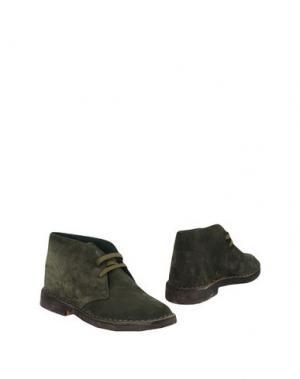 Полусапоги и высокие ботинки PIERRE DARRÉ. Цвет: зеленый