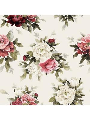 Декоративная наволочка Цветочная композиция 1 Матренин Посад. Цвет: бежевый