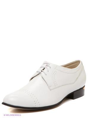 Туфли MILANA. Цвет: белый