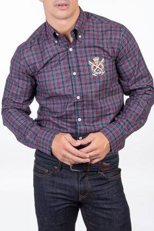 Рубашка POLO CLUB С.H.A.. Цвет: multicolor