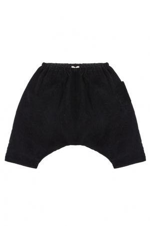 Укороченные брюки Caramel Baby&Child. Цвет: черный