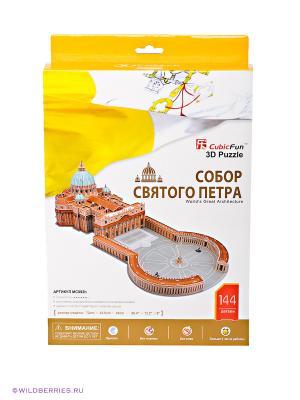 Набор для конструирования Собор Святого Петра CubicFun. Цвет: серый, желтый