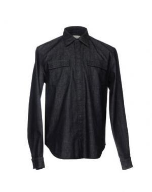 Джинсовая рубашка MAISON MARGIELA. Цвет: синий