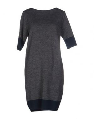 Короткое платье GAZEL. Цвет: свинцово-серый