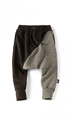 Широкие брюки 1/2 & Nununu. Цвет: черный