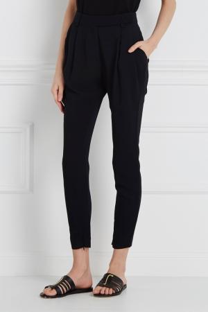 Однотонные брюки Vionnet. Цвет: черный