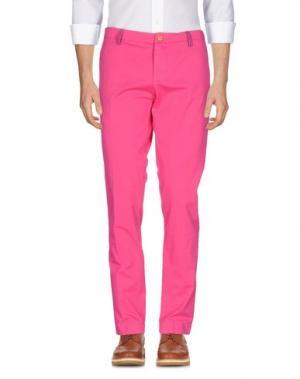 Повседневные брюки DIMATTIA. Цвет: фуксия