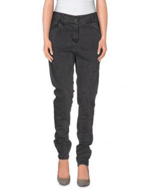 Повседневные брюки FANNY COUTURE. Цвет: свинцово-серый