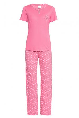 Комплект из хлопка и модала (футболка брюки) 175803 Blackspade