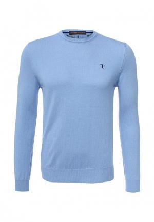 Джемпер Trussardi Jeans. Цвет: голубой