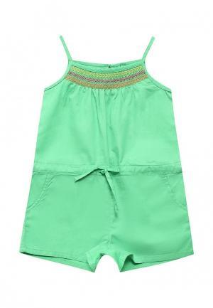 Комбинезон United Colors of Benetton. Цвет: зеленый
