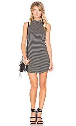 Платье холтер ronnie Riller & Fount. Цвет: черный