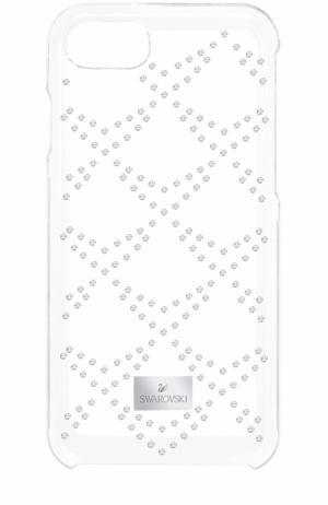 Чехол Hillock для iPhone 7 Swarovski. Цвет: прозрачный