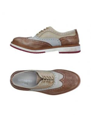 Обувь на шнурках SAMSONITE. Цвет: коричневый