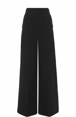 Широкие брюки с завышенной талией и стрелками Roland Mouret. Цвет: черный