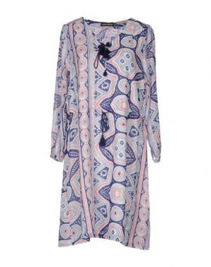 Короткое платье ANTIK BATIK. Цвет: темно-синий