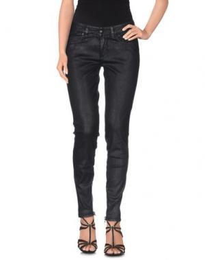 Джинсовые брюки SLY010. Цвет: черный