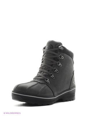 Ботинки The North Face. Цвет: темно-серый