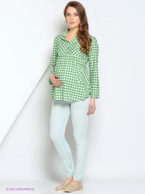 Джинсы Gebbe. Цвет: светло-зеленый, светло-серый, серо-зеленый
