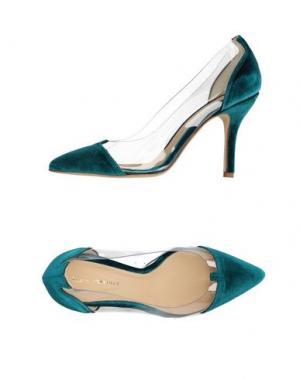 Туфли LUCA VALENTINI. Цвет: цвет морской волны