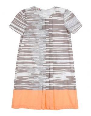Платье KI6? PRETTY. Цвет: серый