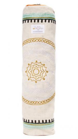 Сумка для йоги из джута с вышивкой La Vie Boheme Yoga