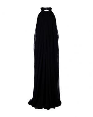 Длинное платье MALAICA. Цвет: черный