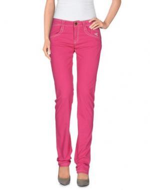 Повседневные брюки CARLO CHIONNA. Цвет: фуксия