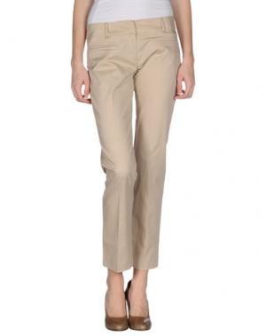 Повседневные брюки DIVINA. Цвет: песочный