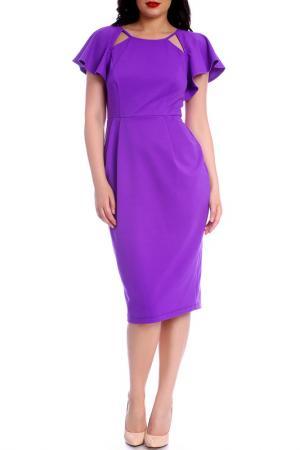 Платье Moda di Chiara. Цвет: purple