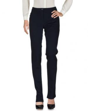 Повседневные брюки DONNA GI. Цвет: темно-синий