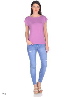 Блузка TACHIQUE. Цвет: лиловый