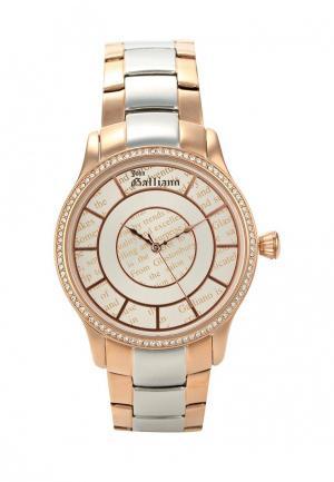Часы Galliano. Цвет: золотой
