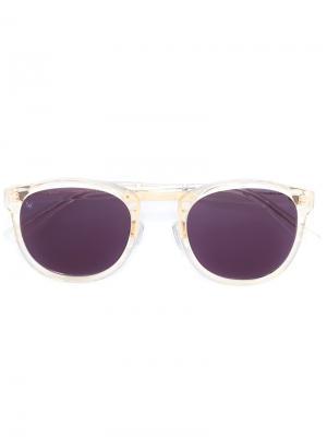 Солнцезащитные очки Crossroad Smoke X Mirrors. Цвет: белый