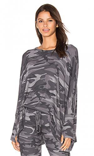 Пуловер flint Michael Lauren. Цвет: серый