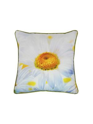 Подушка Ромашка T&I. Цвет: желтый