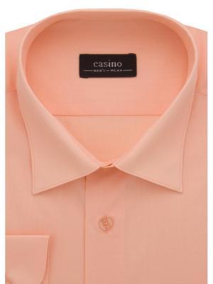 Рубашка CASINO. Цвет: персиковый