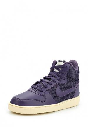 Кеды Nike. Цвет: фиолетовый