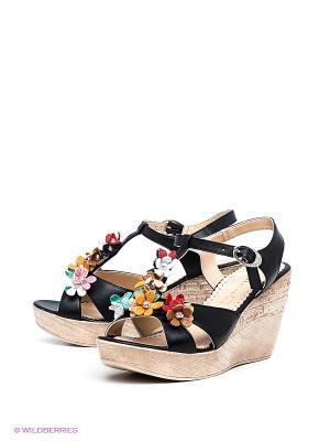 Босоножки Felina shoes. Цвет: черный, светло-бежевый