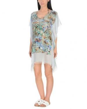 Пляжное платье BEACHCOUTURE. Цвет: небесно-голубой