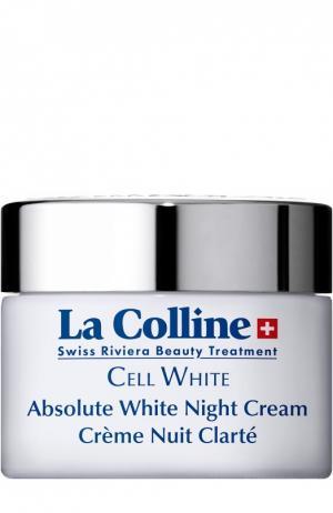 Осветляющий крем для лица ночной Absolute White Night Cream La Colline. Цвет: бесцветный
