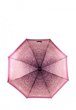 Зонт-трость Fabretti. Цвет: бордовый