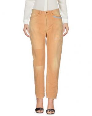 Повседневные брюки AB/SOUL. Цвет: охра