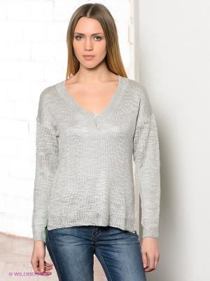 Пуловер CONVER. Цвет: зеленый