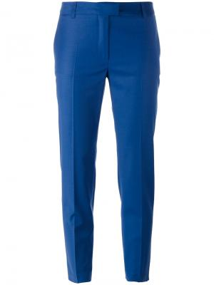Укороченные брюки Paul & Joe. Цвет: синий