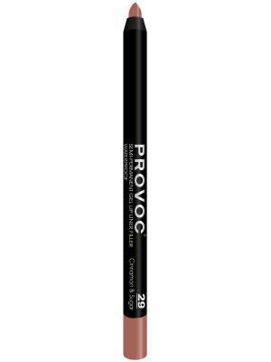 PV0029 Gel Lip Liner 29 Cinnamon&Sugar Гелевая подводка в карандаше для губ (цв. беж-розовый) Provoc. Цвет: розовый