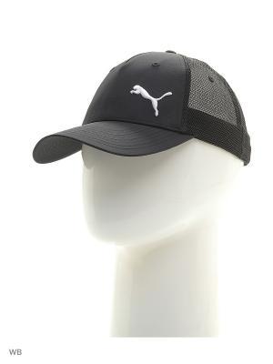 Бейсболка Distance Trucker Cap Puma. Цвет: черный